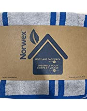 Norwex and Face Pack, Marine Stripes (Pack of 3)