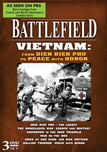 Battlefield Dvd - BATTLEFIELD - Vietnam: from Dien Bien Phu to Peace with Honor! 3 DVD Set!