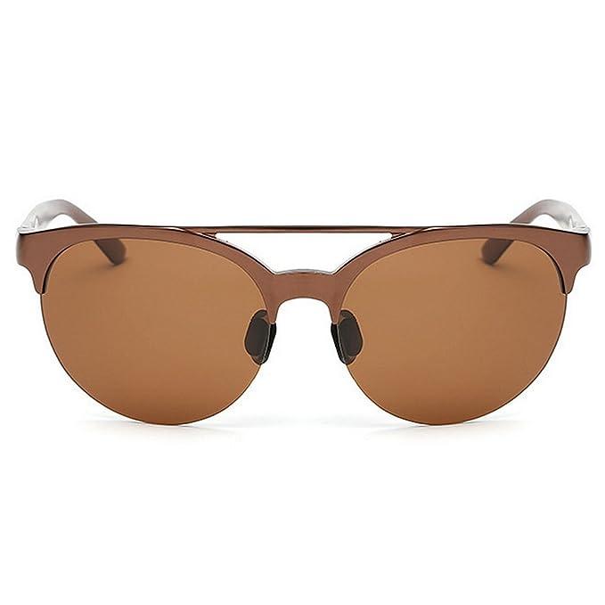 Aclth Retro Ojos de Gato Gafas de Sol polarizadas de Aluminio y Marco de magnesio Protección Solar de Alta Calidad Gafas de Sol Que viajan Regalo del día ...
