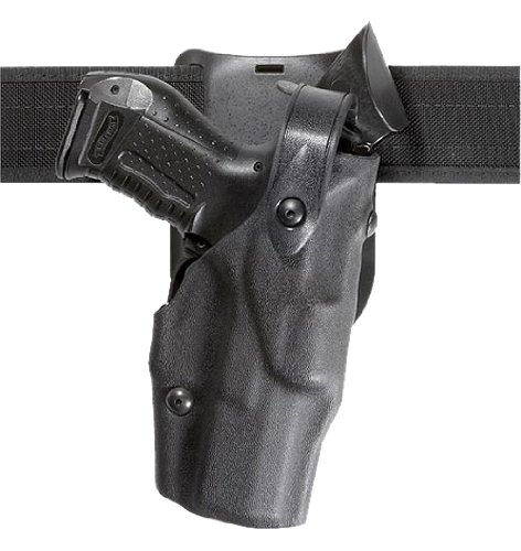 Safariland 6365 Level 3 Retention ALS Duty Low Ride Holster, Black, Right (Duty Gear Holster)