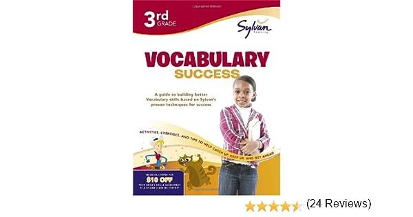 Amazon.com: Third Grade Vocabulary Success (Sylvan Workbooks ...