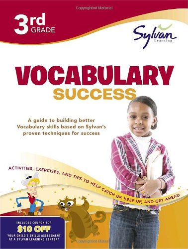 Amazon.com: Third Grade Vocabulary Success (Sylvan Workbooks ...