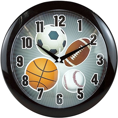 Ashton Sutton MZC182 Wall - Sports Wall Clock
