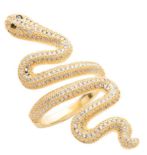 Taylor Swift Snake Ring (Gold)