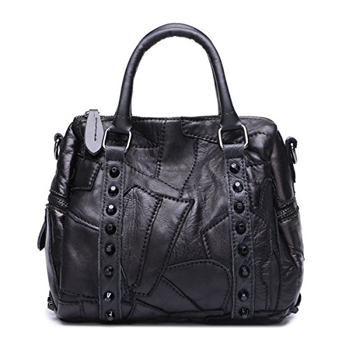 Niethandtasche Umhängetasche Diagonal Mode Leder-Handtasche