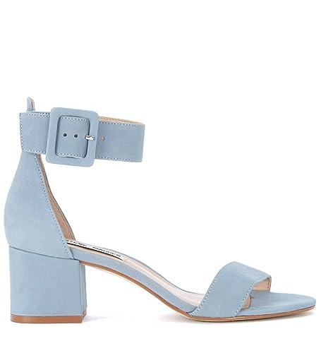 Steve Madden SMSINDIGO-BLUE Sandales Femme Bleu Bleu - Chaussures Sandale Femme
