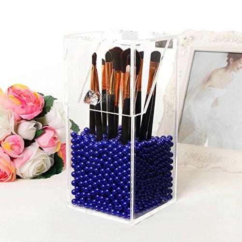 PuTwo Makeup Brush Holder Dustproof Storage Box Premium Q...