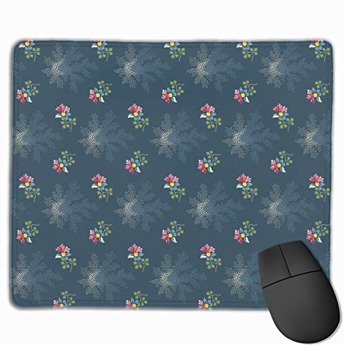 Smooth Mouse Pad Small Flower Mobile Gaming Mousepad Work Mouse Pad Office Pad ()