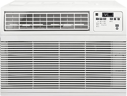 GE AHM10AW 20'' Energy Star Qualified Window Air Conditioner with 10,000 BTU Cooling Capacity in White by GE