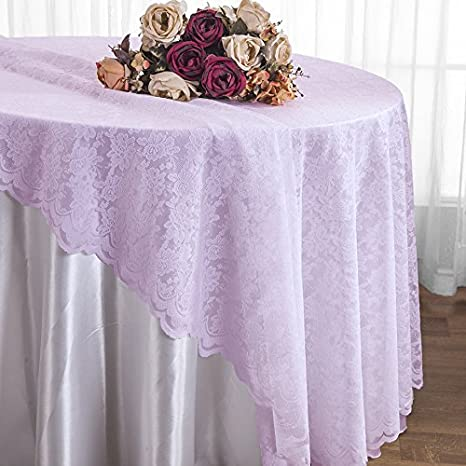 Wedding Linens Inc.108u201d Lace Table Overlays, Lace Tablecloths Round, Lace  Table