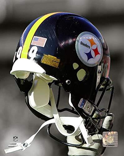 Pittsburgh Steelers Helmet Spotlight Photo (Size: 20