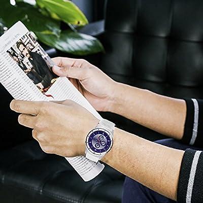 Banda para ZTE Quartz reloj, lamshaw – silicona – Correas de ...