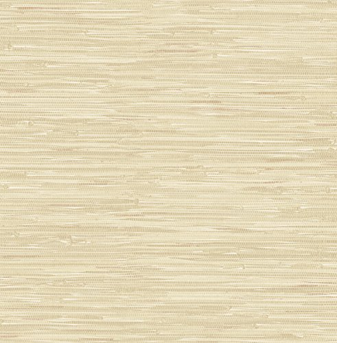 Faux Grass Cloth Wallpaper (Brewster 2704-22267 Natalie Taupe Faux Grasscloth Wallpaper)