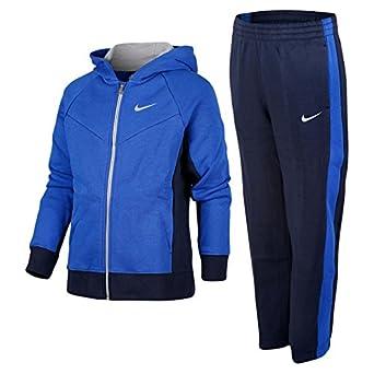 Nike YA HBR FLC Cuff WUP were - Chándal para niño, Color Azul/Gris ...
