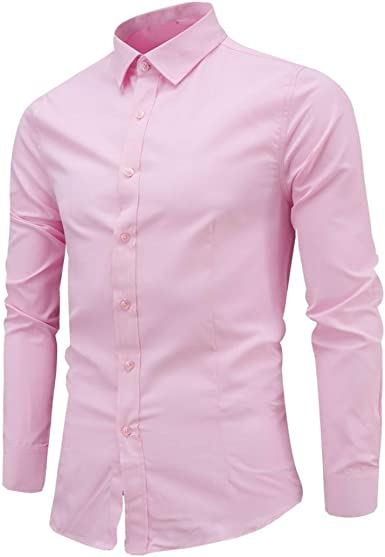 Yvelands Handsome Contraste de los Hombres británicos Solapa Ropa Casual Business Basic Camisa de Manga Larga Blusa Top Coat Jacket Outwear, Cheap Clearance!: Amazon.es: Ropa y accesorios
