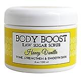 Body Boost Raw Sugar Scrub - Honey Vanilla