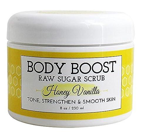 Basq Body Boost - Raw Sugar Scrub Honey Vanilla -