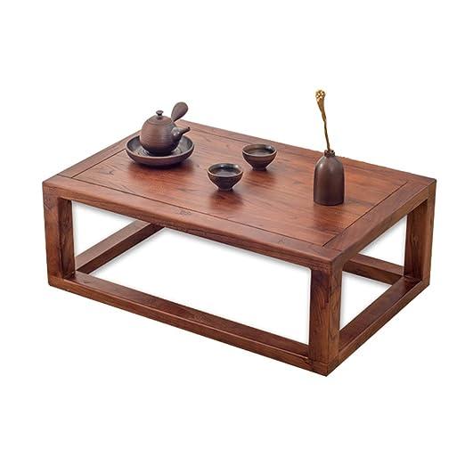 PHH Tatami Mesas de café con Ventana, Simple y pequeña, Mesa de té ...