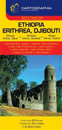 Ethiopia, Eritrea, Djibouti (French, English and German Edition)