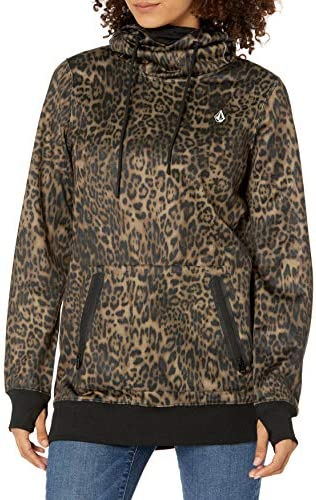 Volcom Women's Spring Shred Hooded Fleece Sweatshirt