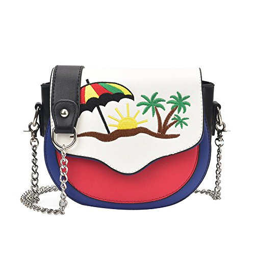Bag Woman Diagonal Square Single Embroidered Dhfud Mini Bag Package Shoulder Style1 Small xYXZwYgqTf