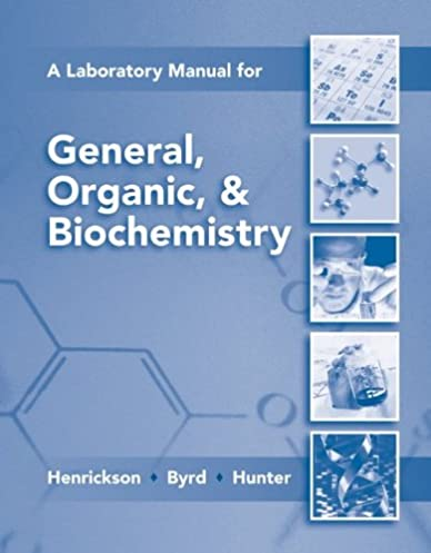 lab manual for general organic biochemistry 9780077296728 rh amazon com