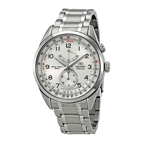 (Orient Power Reserve Automatic White Dial Mens Watch FFM03002W0)