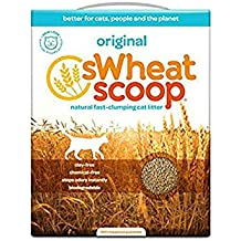 Swheat Scoop All Natural Scooping Cat Litter 12.3 LB (Pack of 4)