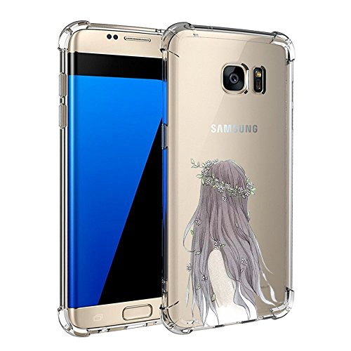 Price comparison product image Beryerbi Samsung Galaxy s7/s7 Edge Case Ultra Slim Clear Technology Protective Cover (2, Galaxy s7 Edge)