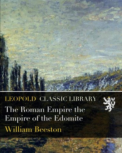 The Roman Empire the Empire of the Edomite PDF ePub fb2 ebook