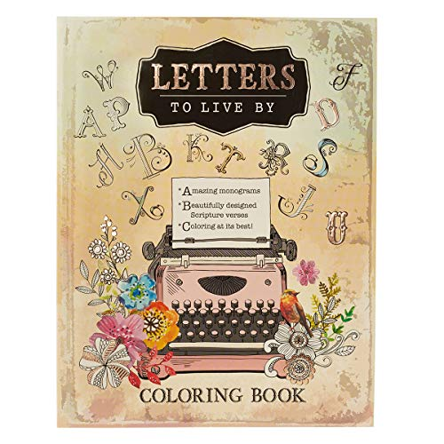 Letters to Live By: An Inspirational Adult Coloring Book]()