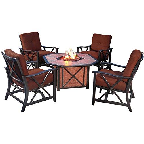 Agio Haywood5pcfp 5 Piece Haywood Lounge Set