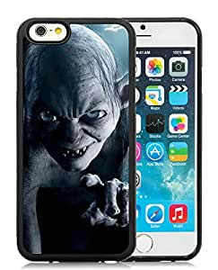 Gollum Lord Of The Rings Lockscreen Black New Personalized Custom iPhone 6 4.7 Inch Silicone TPU Case