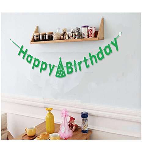Mikey Store Celebrations Letters Garland Decoration Wedding Birthday Banquet Decoration Flag (Store Decorations)