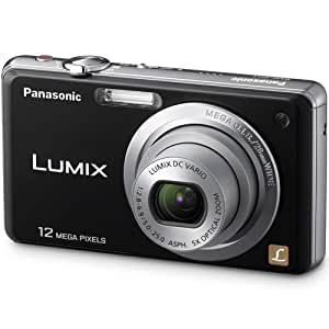 Panasonic Lumix DMC-FH1 12.1 MP Digital Camera with 5x Optical Image Stabilized Zoom and 2.7-Inch LCD (Black)