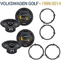 Volkswagen Golf 1999-2014 Factory Speaker Upgrade Harmony (2) R65 Package New