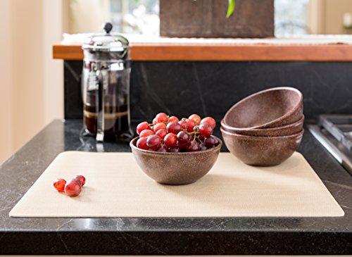 EVO Sustainable Goods 16 oz. Bowl Set, Dark Brown by EVO Sustainable Goods (Image #5)