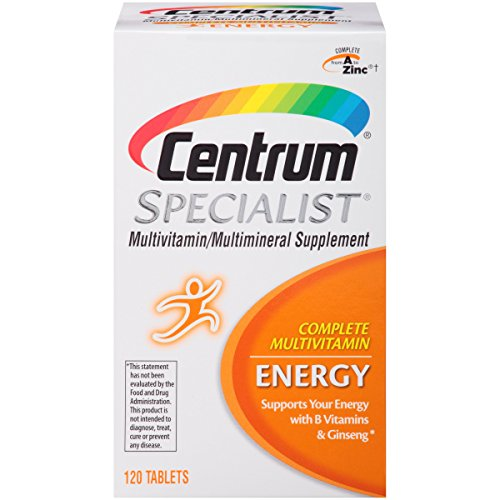 Centrum Specialist Energy Complete Multivitamin Supplement (120-Count Tablets)