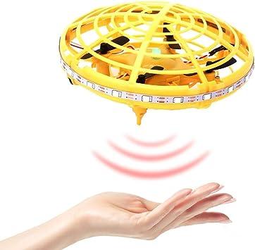 Onlyonehere Flying Ball Toy Drone, dron controlado a Mano por ...