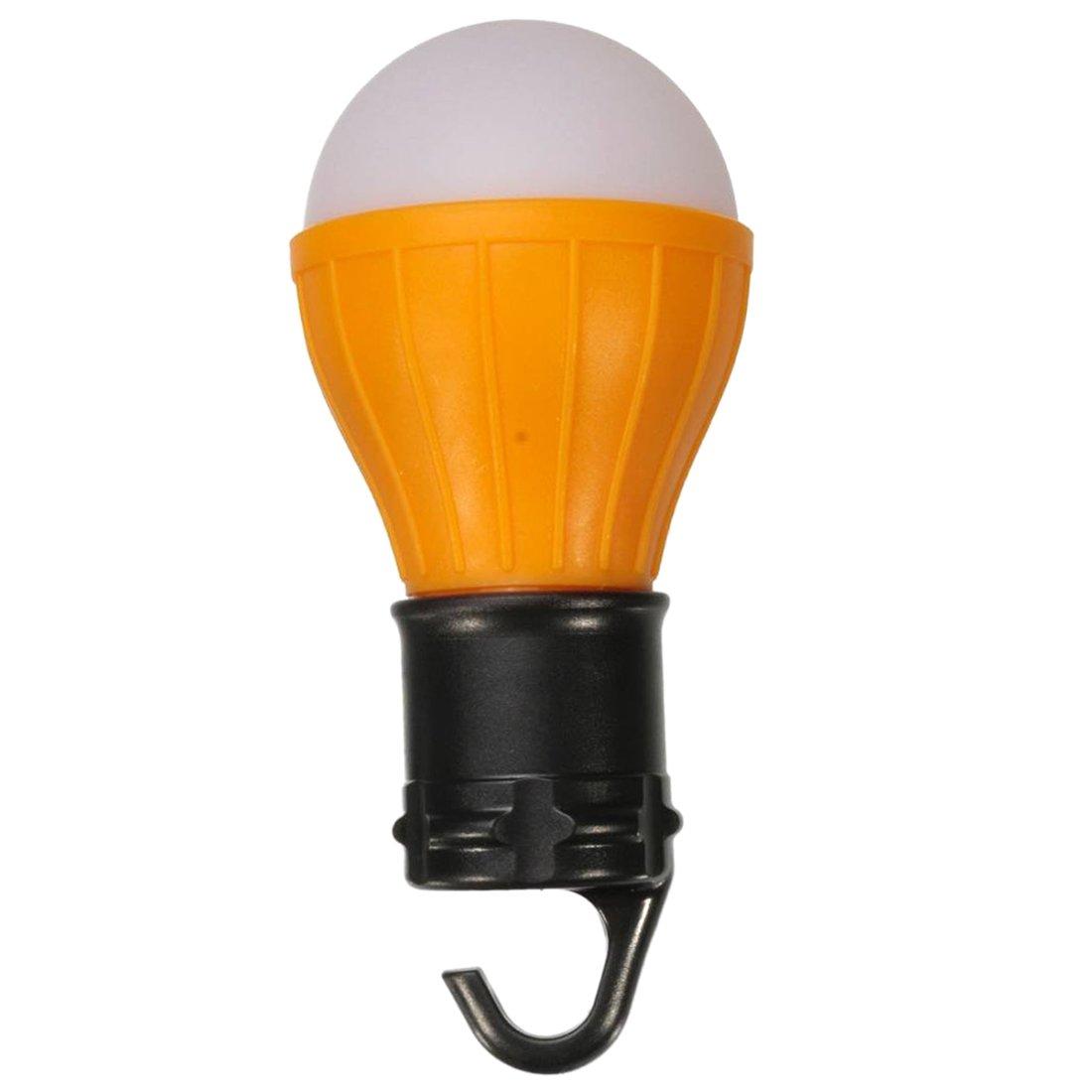 TOOGOO ( R )アウトドア3 LEDキャンピングランプバルブ球状プラスチック吊りランプテントランプ電球キャンプ、オレンジ部屋 B01JU3T4PY 16153