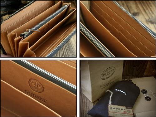GODANE カイマンワニ財布 の内装