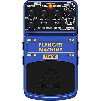 Amazon.com: Behringer FL600 Flanger máquina Ultimate ...