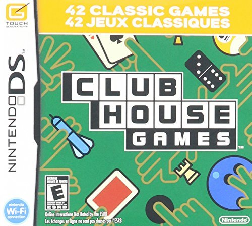 Clubhouse Games: Nintendo DS by Nintendo (Games Club Ds House)