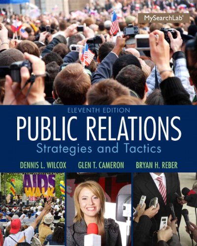 205960642 - Public Relations: Strategies and Tactics (11th Edition)