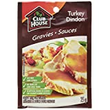 Club House Gravy Mix for Turkey, 25gm, 18-count