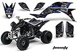 2007 yfz 450 graphics - Yamaha YFZ 450 2004-2013 ATV All Terrain Vehicle AMR Racing Graphic Kit Decal TOXICITY BLUE