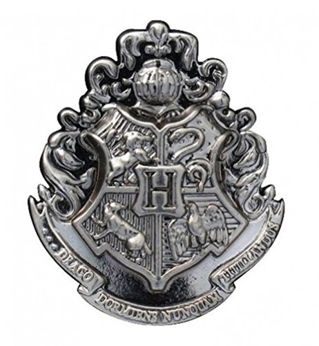 Harry Potter Hogwarts School Crest Pewter Lapel (Collectable Pin)