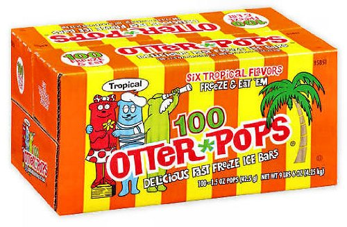 100 juice otter pops - 6