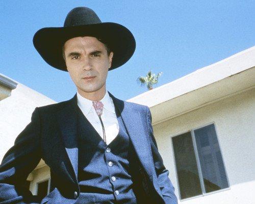 39787098807e8 David Byrne in True Stories Talkings Heads singer in western suit ...
