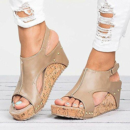 Donyyyy Zapatos de mujer, tacones boca de pescado Thirty-seven